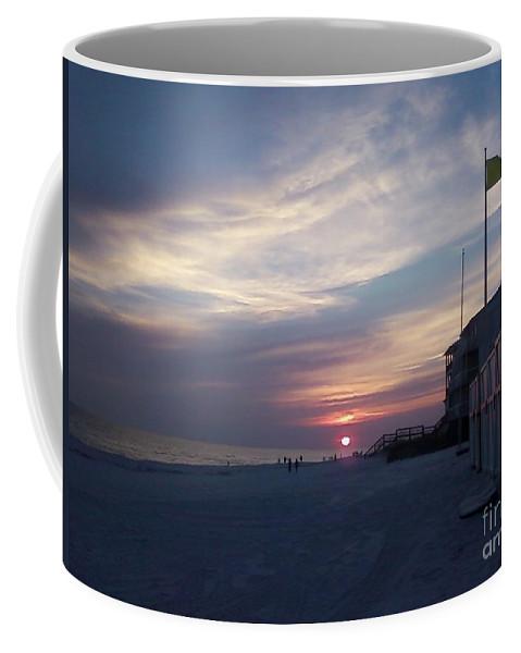 Destin Beach Coffee Mug featuring the photograph Sun Down In Destin by Michelle Powell