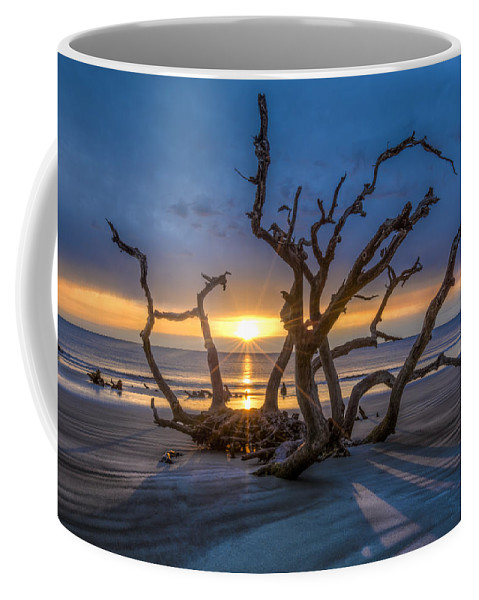 Clouds Coffee Mug featuring the photograph Sun Shadows by Debra and Dave Vanderlaan