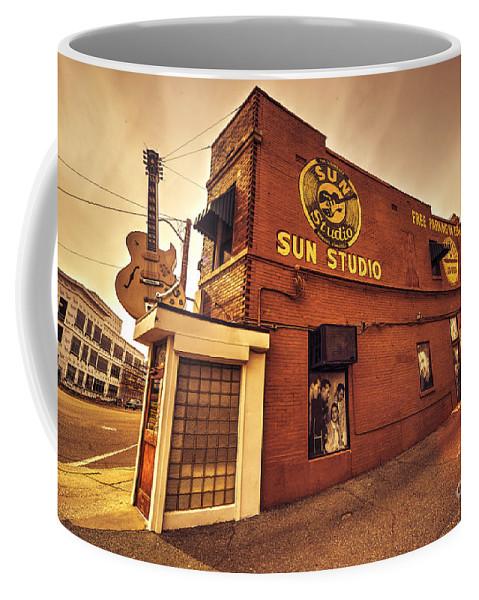 Sun Coffee Mug featuring the photograph Sun Studios Memphis by Rob Hawkins