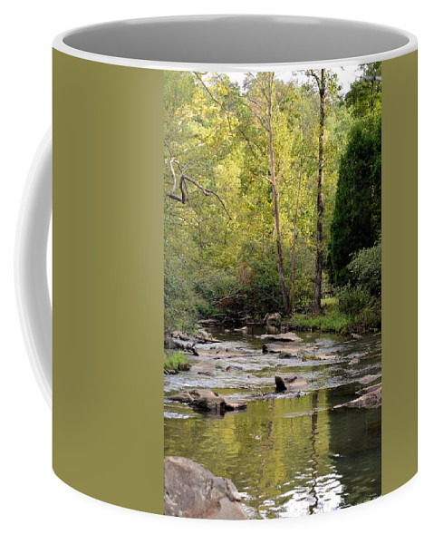 Sundown Coffee Mug featuring the photograph Sundown In September 2012 by Maria Urso