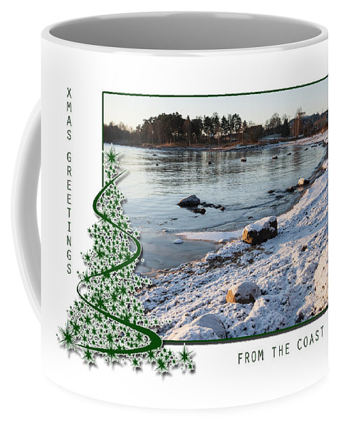 Christmas Coffee Mug featuring the photograph Sunny Winter Day by Randi Grace Nilsberg