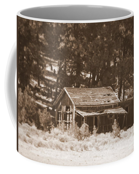 Homestead Coffee Mug featuring the photograph Sunny With Two Porches by Carol Groenen