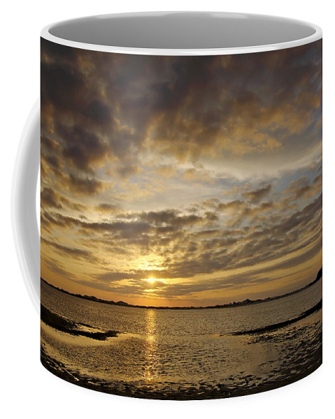Florida Coffee Mug featuring the photograph Sunrise At Low Tide - Sleepy Cove by Bill Chambers