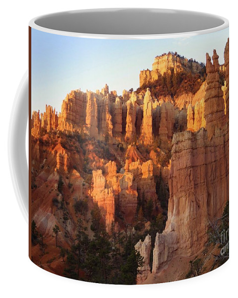 Sunrise Coffee Mug featuring the photograph Sunrise In Bryce by Tonya Hance