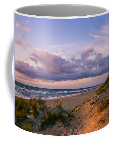 Sunrise Coffee Mug featuring the photograph Sunrise In Rodanthe by Stacy Abbott