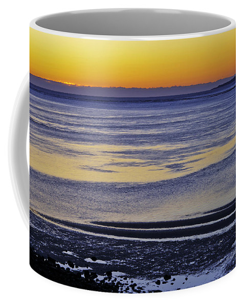 Sunrise Coffee Mug featuring the photograph Sunrise Ipswich Bay by David Stone