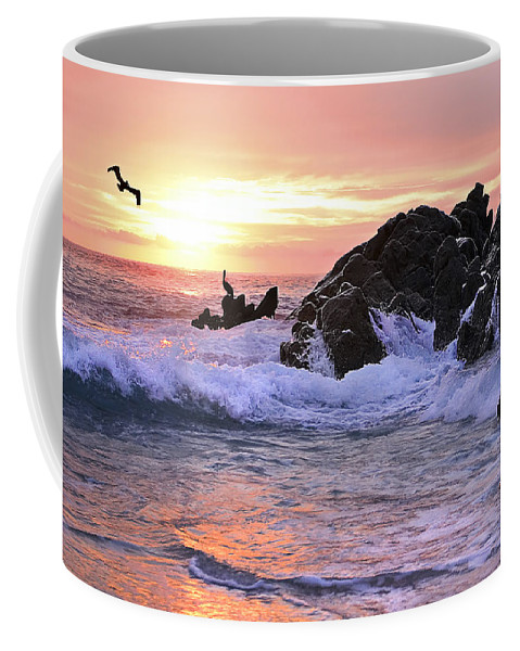 Landscape Coffee Mug featuring the photograph Sunrise On The Horizon by Marcia Colelli