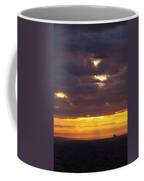 Sunrise Coffee Mug featuring the photograph Sunrise On The Ocean by Marilyn Wilson