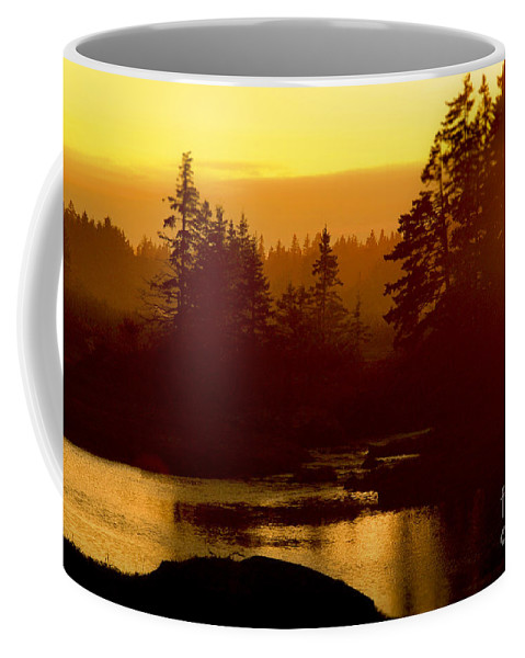 Sunset Coffee Mug featuring the photograph Sunset by Alana Ranney