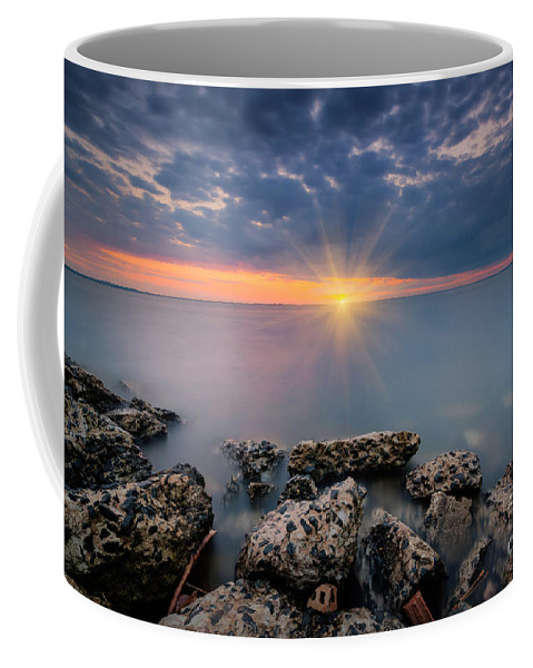 Sandy Hook Coffee Mug featuring the photograph Sunset Bliss by Michael Ver Sprill