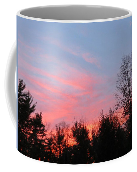 Sunset Coffee Mug featuring the photograph Sunset Cross by MTBobbins Photography