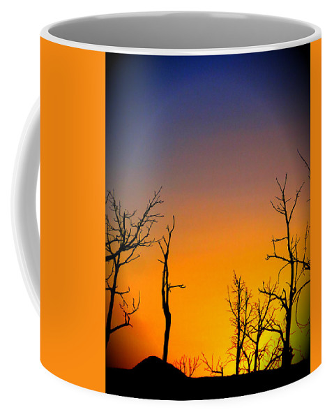 Sunset Hue Coffee Mug featuring the photograph Sunset In Mesa Verde by Dan Sproul