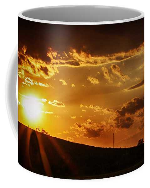 Sunset Coffee Mug featuring the photograph Sunset In Vernon County by Tommy Anderson