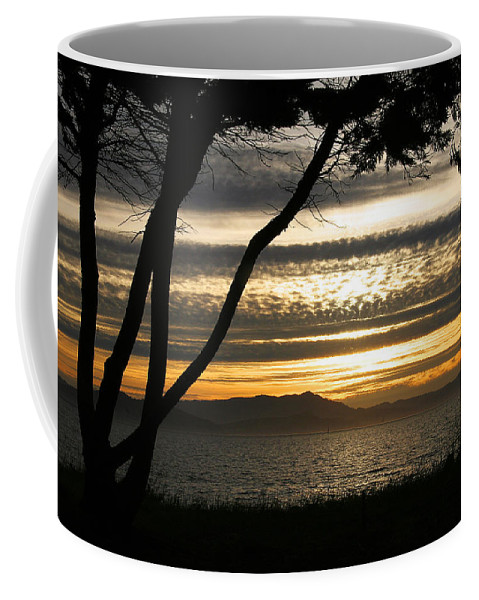 San Francisco Coffee Mug featuring the photograph Sunset On The Bay by Robert Woodward