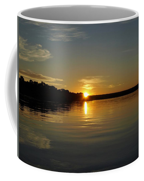 Africa Coffee Mug featuring the photograph Sunset On The Zambezi 2 by William Morgan
