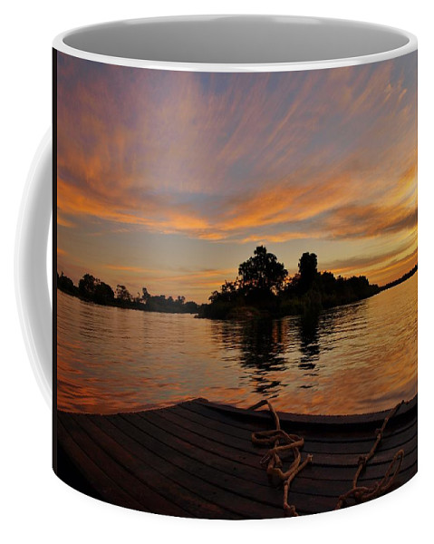 Africa Coffee Mug featuring the photograph Sunset On The Zambezi by William Morgan