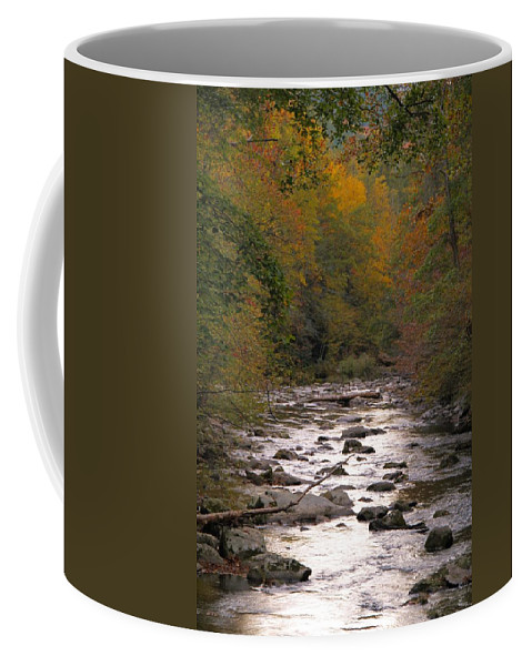 Sunset Over Little River Coffee Mug featuring the photograph Sunset Over Little River by Dan Sproul