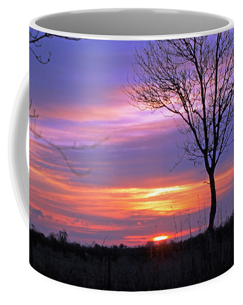 Sunset Coffee Mug featuring the photograph Sunset by Tony Murtagh