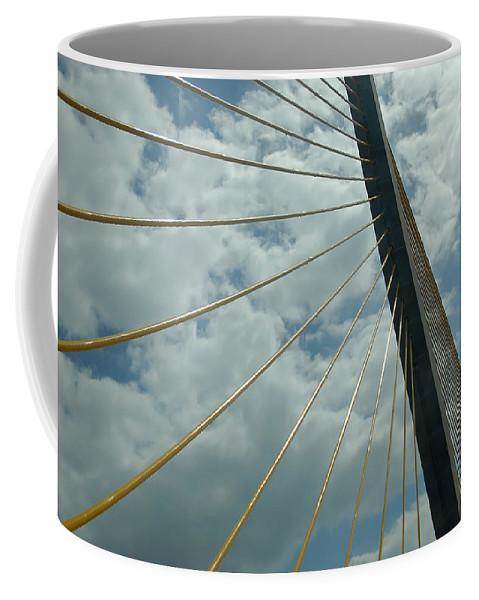 Sunshine Skyway Bridge Coffee Mug featuring the photograph Sunshine Skyway by Aimee L Maher ALM GALLERY