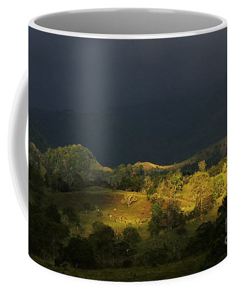 Heiko Coffee Mug featuring the photograph Sunspot After The Storm by Heiko Koehrer-Wagner