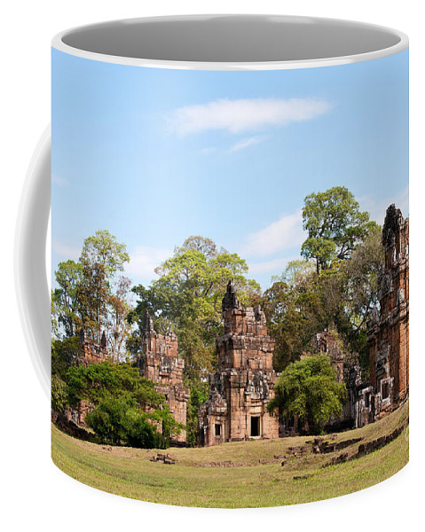 Suor Coffee Mug featuring the photograph Suor Prat Towers 02 by Rick Piper Photography