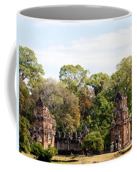 Suor Coffee Mug featuring the photograph Suor Prat Towers 03 by Rick Piper Photography