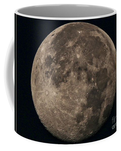 Super Moon Coffee Mug featuring the photograph Super Moon 3628 August 2014 by Jack Schultz