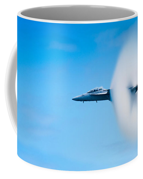 F18 Coffee Mug featuring the photograph Super Sonic by Sebastian Musial