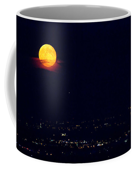 Supermoon Coffee Mug featuring the photograph Supermoon 2 by James BO Insogna