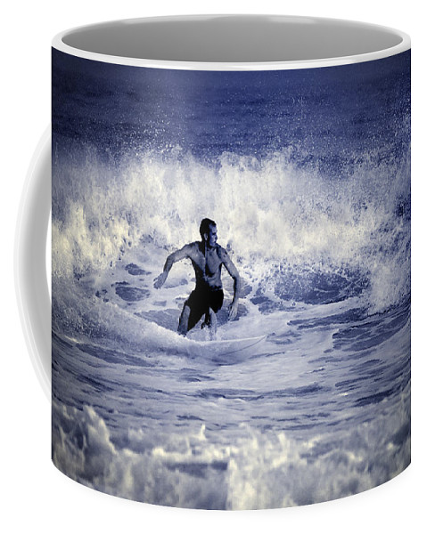 Surf Coffee Mug featuring the photograph Surf At Summer by Guido Montanes Castillo