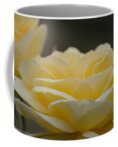 Flower Coffee Mug featuring the photograph Surreal by Susan Herber