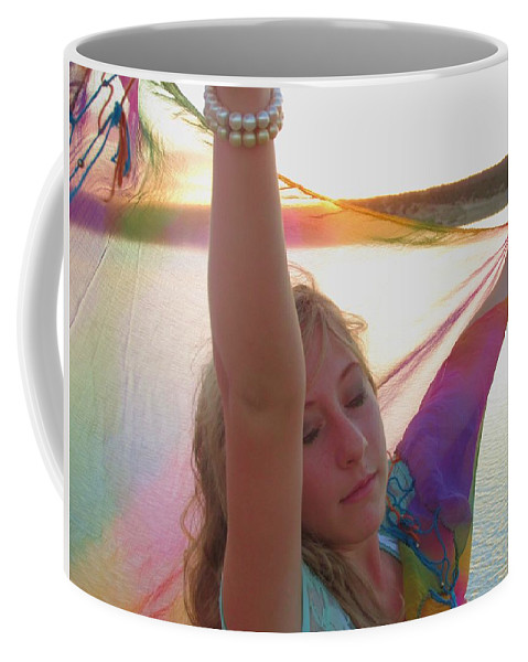Prophetic Coffee Mug featuring the photograph Surrrender by Jewell McChesney