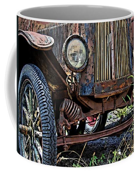 Dan Sabin Coffee Mug featuring the photograph Suspended In Time by Dan Sabin