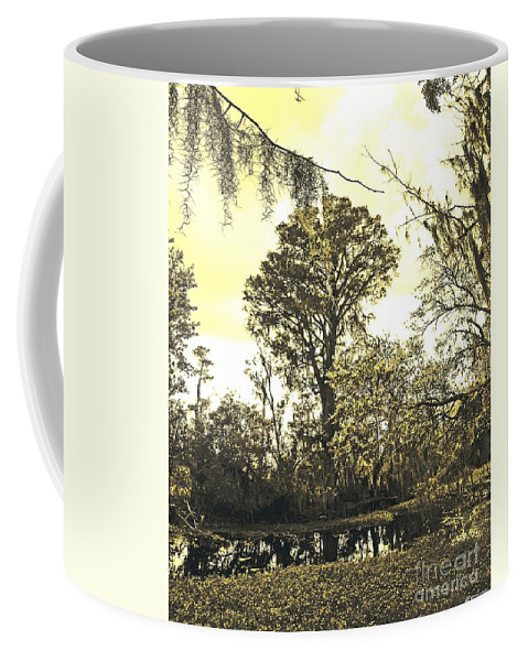 Jean Lafitte National Preserve Coffee Mug featuring the photograph Swamp by Lizi Beard-Ward