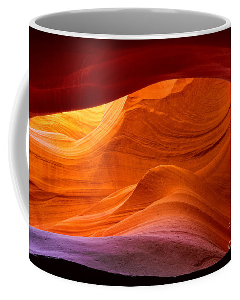 America Coffee Mug featuring the photograph Sweeping Swirls by Inge Johnsson