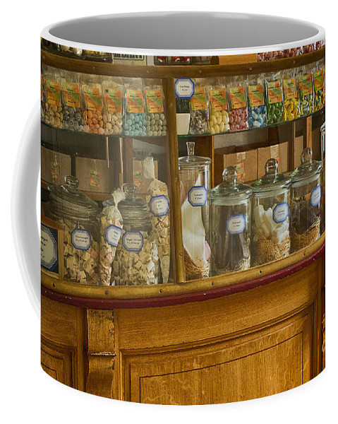 Old Sweet Shop Coffee Mug featuring the photograph Sweet Shop by Brothers Beerens
