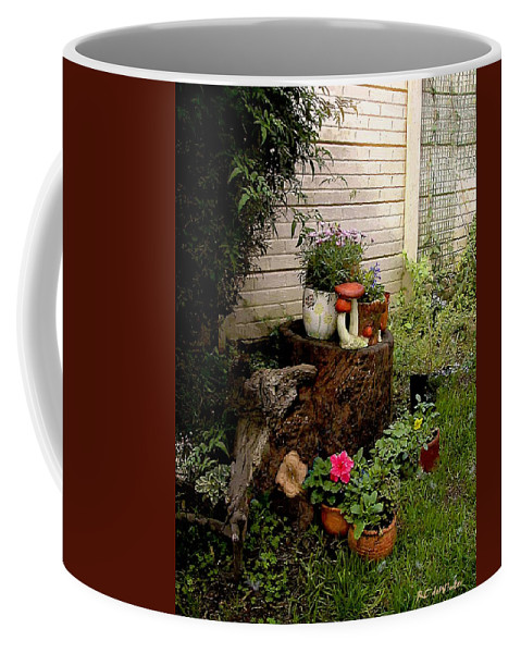 Flora Coffee Mug featuring the painting Sweet Spot by RC DeWinter