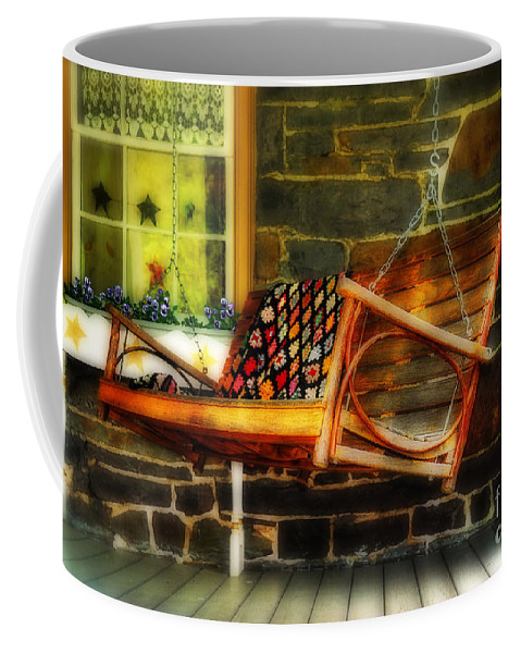 Swing Coffee Mug featuring the photograph Swing Me by Lois Bryan