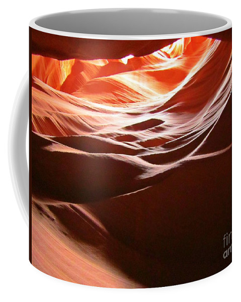 Beautiful Canyons Coffee Mug featuring the photograph Swirling Layers Of Sandstone by John Malone