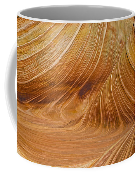 The Image Was Shot At Coyotte Buttes In The Paria Canyon Vermilion Cliffs Wilderness Coffee Mug featuring the photograph Swirls by Bob Phillips