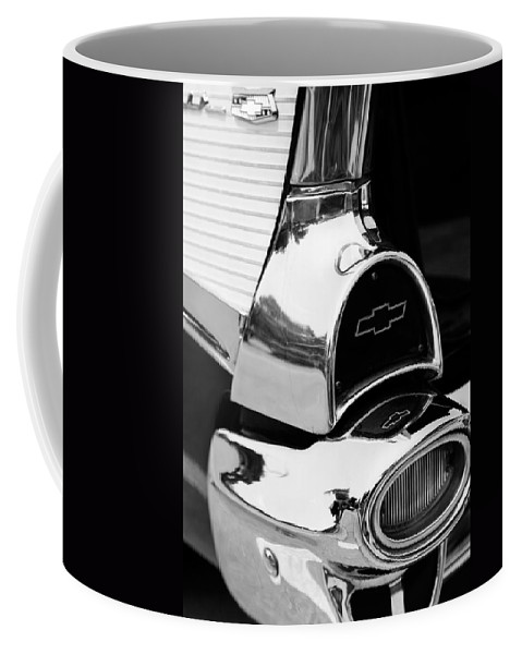 Tail Coffee Mug featuring the photograph Tail Fin by Alexey Stiop