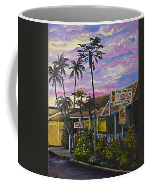 Landscape Coffee Mug featuring the painting Take Home Maui by Darice Machel McGuire