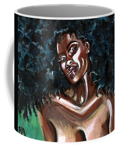 Sexy Coffee Mug featuring the photograph Take Me as I AM -or have nothing at all by Artist RiA