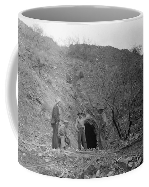 Mine Coffee Mug featuring the photograph Taking A Break by Larry Ward