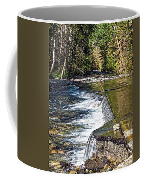 River Coffee Mug featuring the photograph Taking Back by Anna Burdette