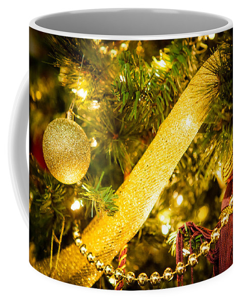 2012 Coffee Mug featuring the photograph Tassels Under The Tree by Melinda Ledsome