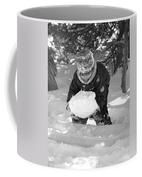 Tasting Coffee Mug featuring the photograph Tasting Winter by Sheri Lauren