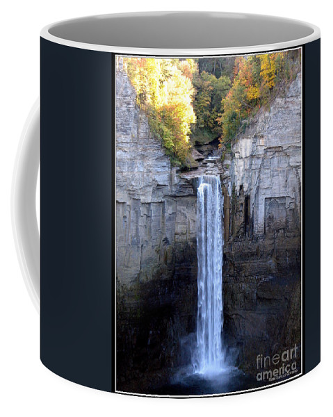 Taughannock Falls Coffee Mug featuring the photograph Taughannock Falls by Rose Santuci-Sofranko