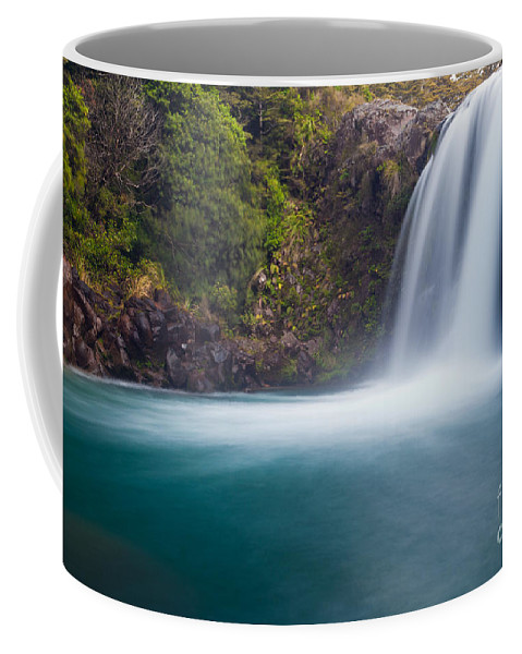 Mount Coffee Mug featuring the photograph Tawhai Falls In Tongariro Np New Zealand by Stephan Pietzko