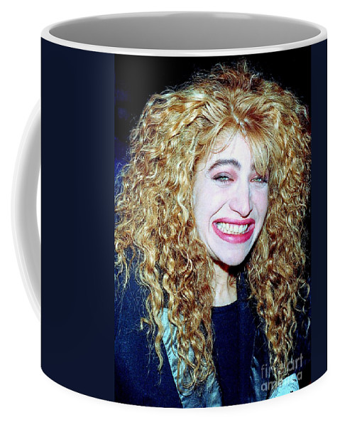 Singer Coffee Mug featuring the photograph Taylor Dane 1988 by Ed Weidman